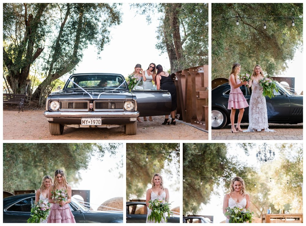 Rustic Farm Wedding Ceremony