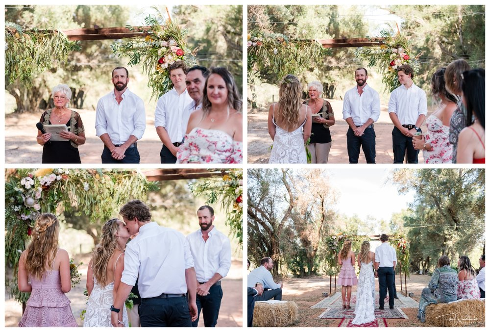 Perth Farm Wedding Ceremony