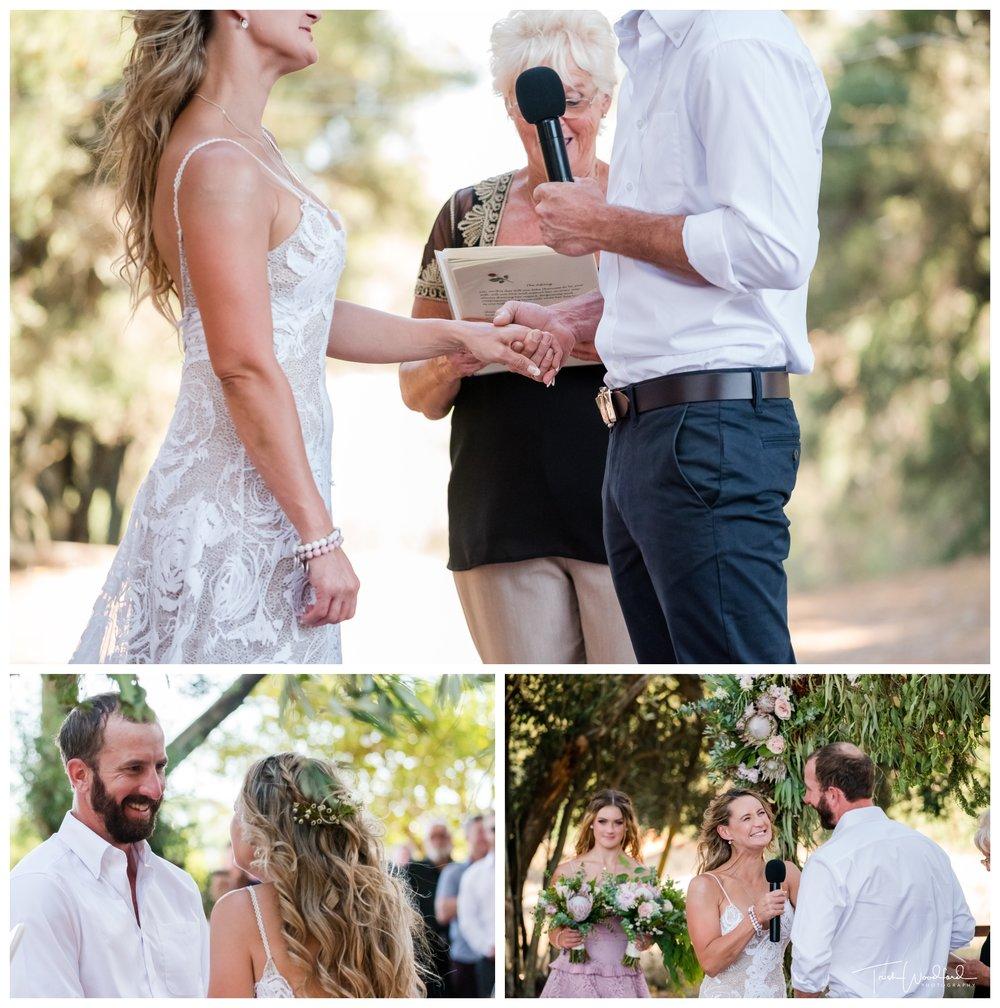 Farm Wedding Ceremony Perth