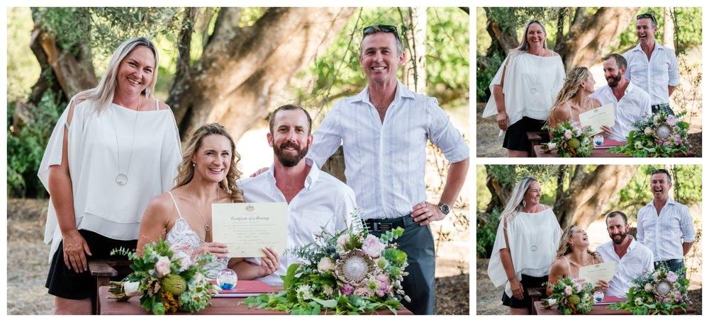 WA Bush Farm Wedding