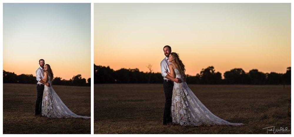 Bridal Sunset Portraits