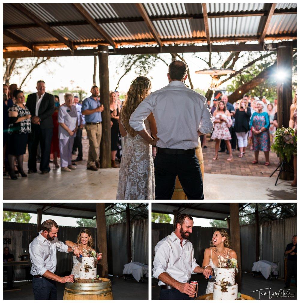 Country Farm Wedding Reception