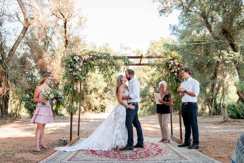 Coolup Farm Wedding Ceremony