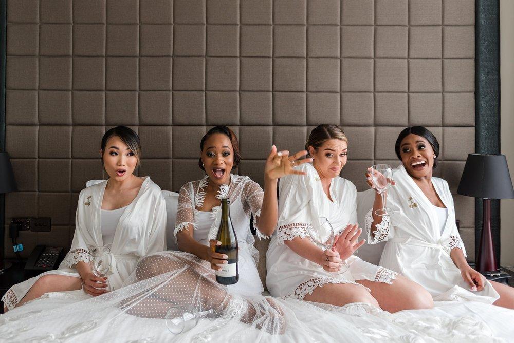 Perth Bride and Bridesmaids