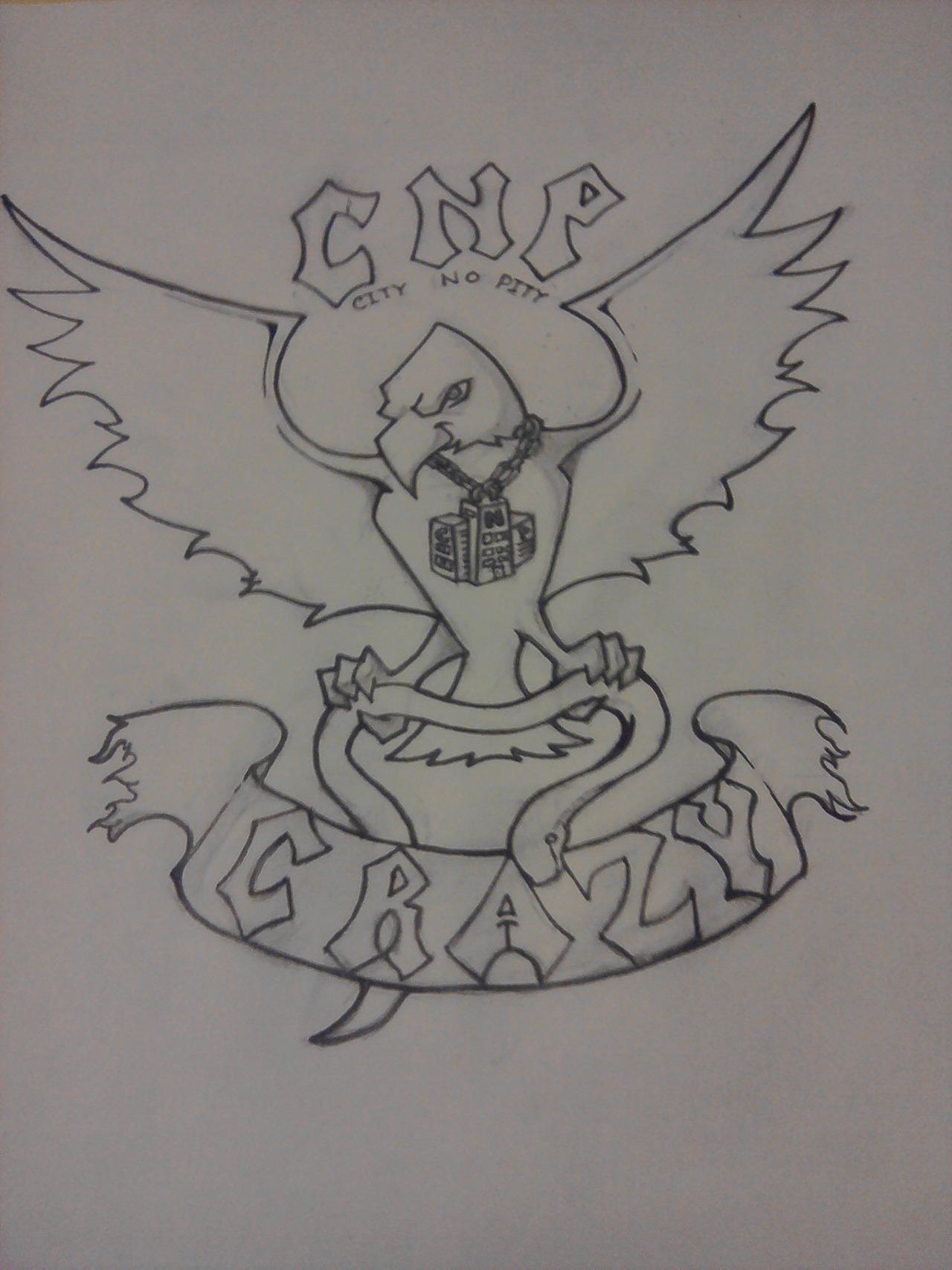 cnp crazy doodle