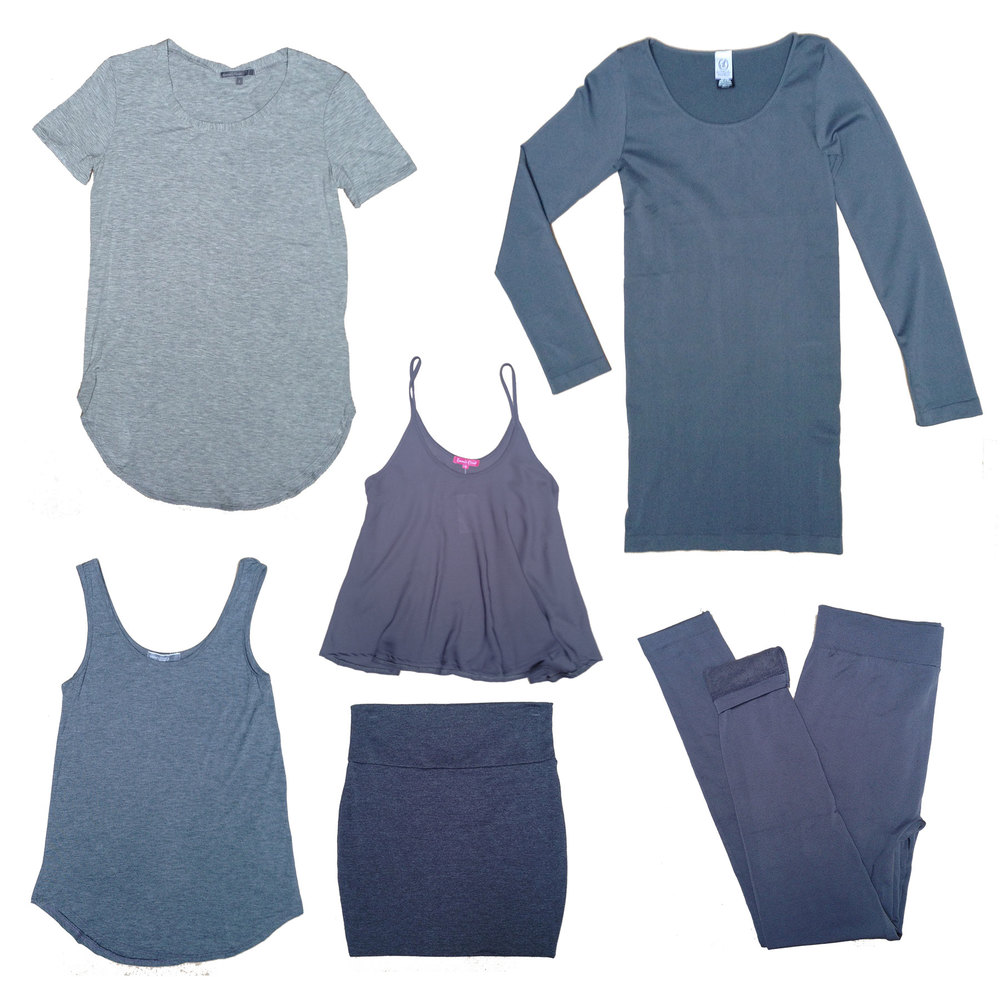 Start with our tried and true grey basics...