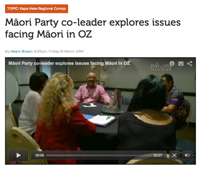 http://www.maoritelevision.com/news/politics/maori-party-co-leader-explores-issues-facing-maori-oz