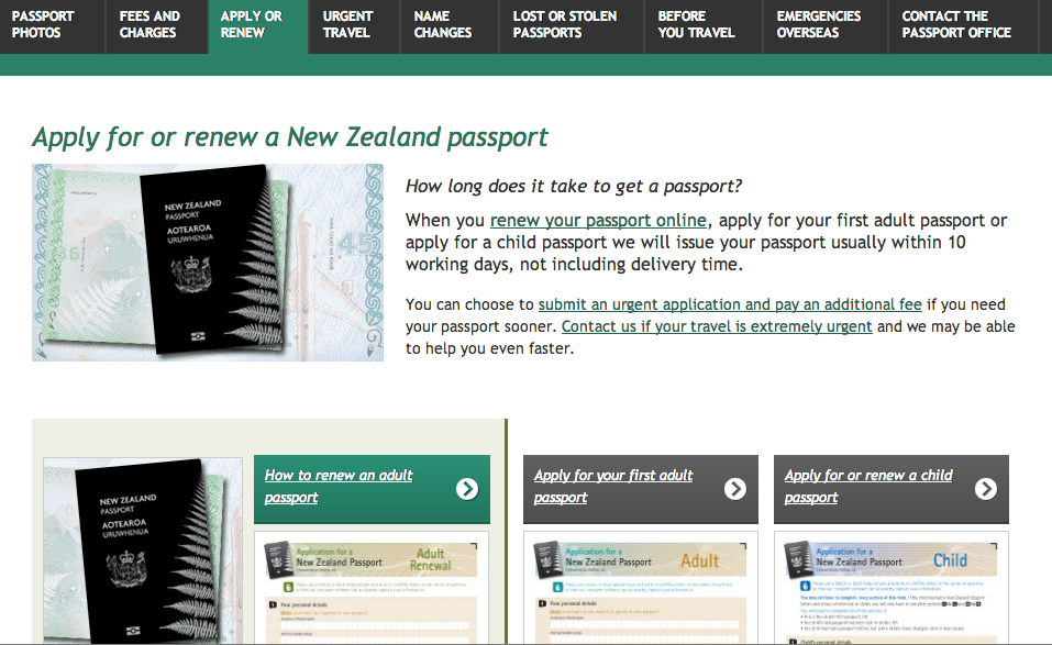 NZ) Applying for a NZ Passport — Iwi n Aus