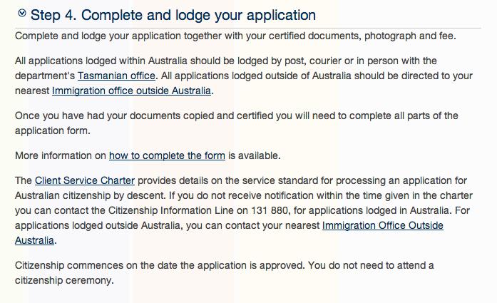 australian citizenship application form 1290