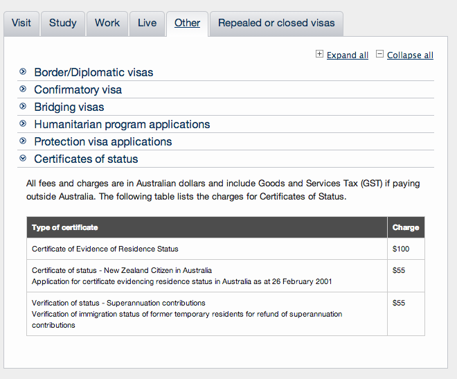 NZ) Apply for residency status in Australia — Iwi n Aus