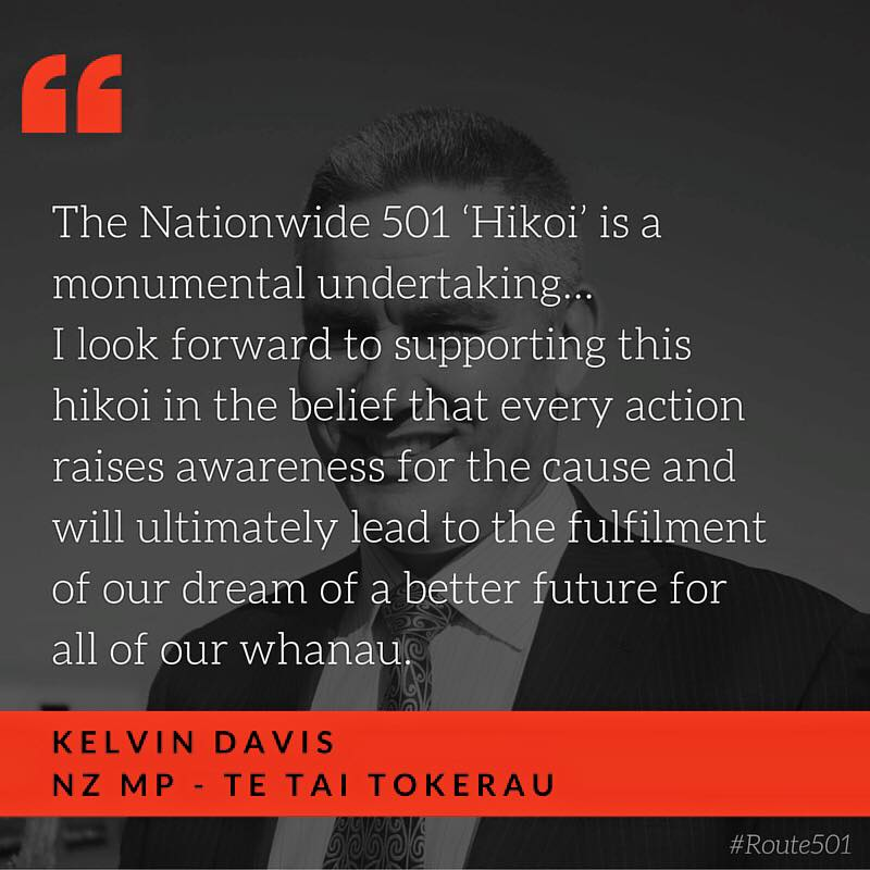 "E nga poutokomanawa o te iwi kei Ahitereiria, ka nui aku mihi ki a koutou e hapai ana o to tatou mana, me te wairua o te tangata kei tawahi na.  Thank you all for the very important work you are doing to uphold the mana and to lift the spirits of our people who have chosen to make their homes in Australia.  New Zealanders who live in Australia have experienced hard times, prejudice, unequal treatment and at times outright racism.  Whether it is lack of access to social, educational, vocational or health support, the detention of ex-prisoners or the deportation of kiwis who have had their visas revoked, you are the people who are striving to give New Zealand born Australians a fair go.  Your work has been noticed in New Zealand and on behalf of all whanau who remain at home, we thank you.  Regardless of the side of the Tasman we live, our most basic dream is for a place to call home, whanau to love and provide for, and a future to hope for.  The treatment of New Zealand born Australians by the Australian Government threatens those dreams.  In the last few days there has been progress.  That progress has come from the pressure of your efforts.  Those of us in New Zealand have followed your example and exerted pressure on the New Zealand Government. As happy as we are at the progress made, we are well aware that there will be kiwi winners and losers. This progress is part of the longer journey. The destination is still to be reached.  We must continue with our efforts until all New Zealand and all Australian citizens, regardless of which side of the Tasman they decide to call home, enjoy equal rights.  The inter-state 'hikoi' is a monumental undertaking. It requires belief, energy, commitment and sacrifice, but above all it requires a love and selflessness for our people.  Me maumaharatia tatou i nga korero o o tatou tupuna, ""He aha te mea nui o te ao? He tangata, he tangata, he tangata.""  Doing what is right is not always easy, but it is always right.  I expect to join you in Sydney on Thursday 17 March for the first three days. I look forward to supporting this hikoi in the belief that every action raises awareness for the cause and will ultimately lead to the fulfilment of our dream of a better future for all of our whanau.     Nga manaakitanga o te Runga Rawa ki runga I a koutou katoa.  ____________________________________________________________________________________  Kelvin Davis  MP for Te Tai Tokerau"