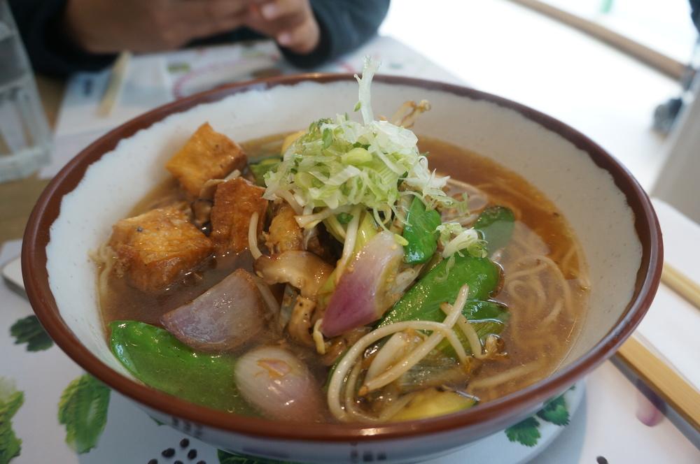 Asian food at Wagamama