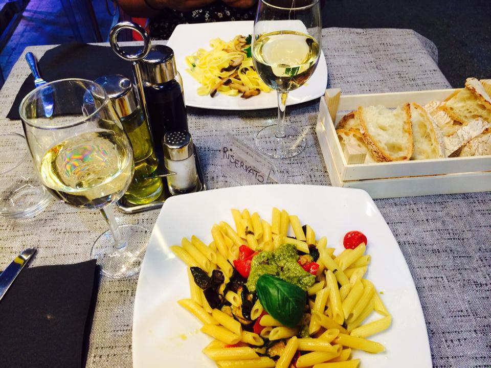 Dinner in Sorrento