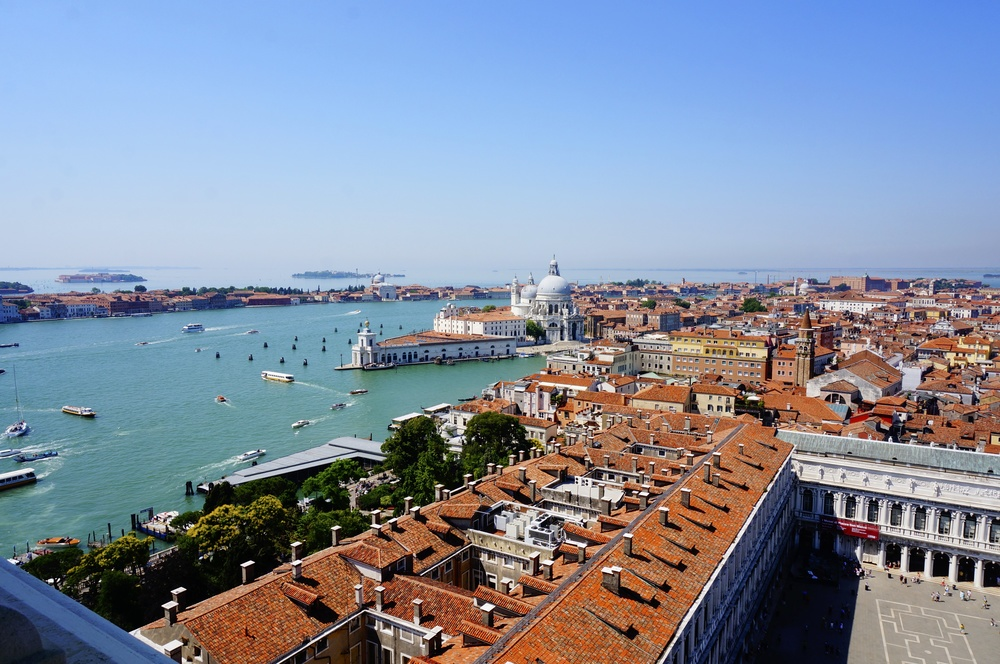 View from St. Mark's Cathedral