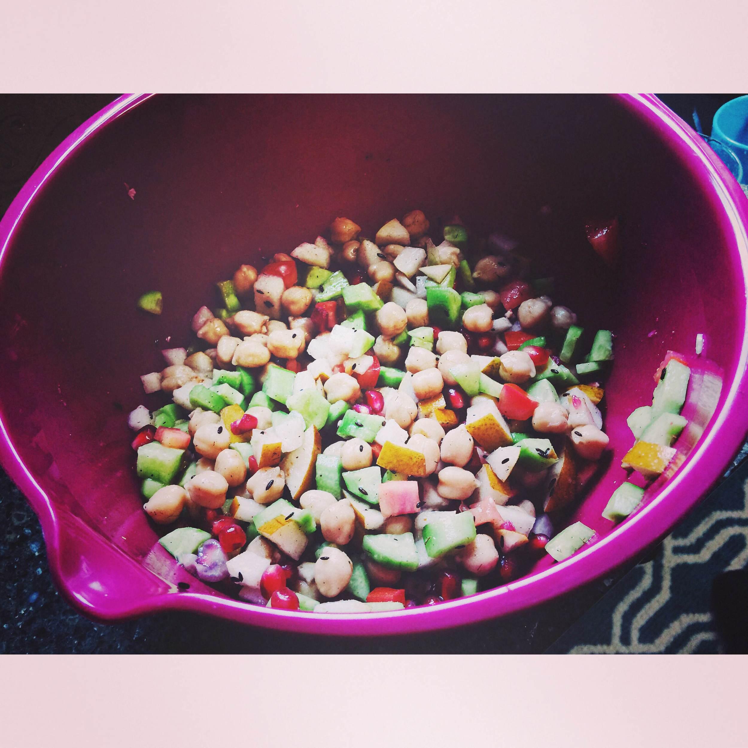 Fruite and Vegetable Salad