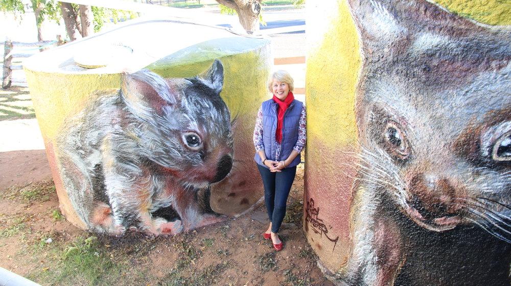 Wombat tanks