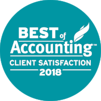- Proud to be recognized as a 2017 and 2018 Best of Accounting firm! The best client service accounting firms achieved an average Net Promoter Score of 75%, nearly 4x the industry average for accounting firms. Winners secured a 2017 Best of Accounting Award by obtaining at least a 50% Net Promoter Score indicating exceptionally high levels of client service within the accounting industry.
