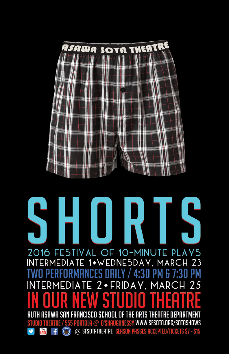 CALENDARSHORTS - A FESTIVAL OF 10 MINUTE PLAYS - THEATRE