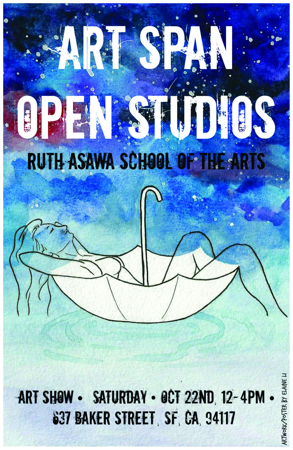 CALENDARYOUTH OPEN STUDIOS ART EXHIBITION & PARTY!