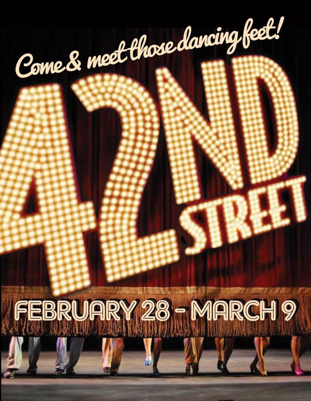 42ND STREET   2013