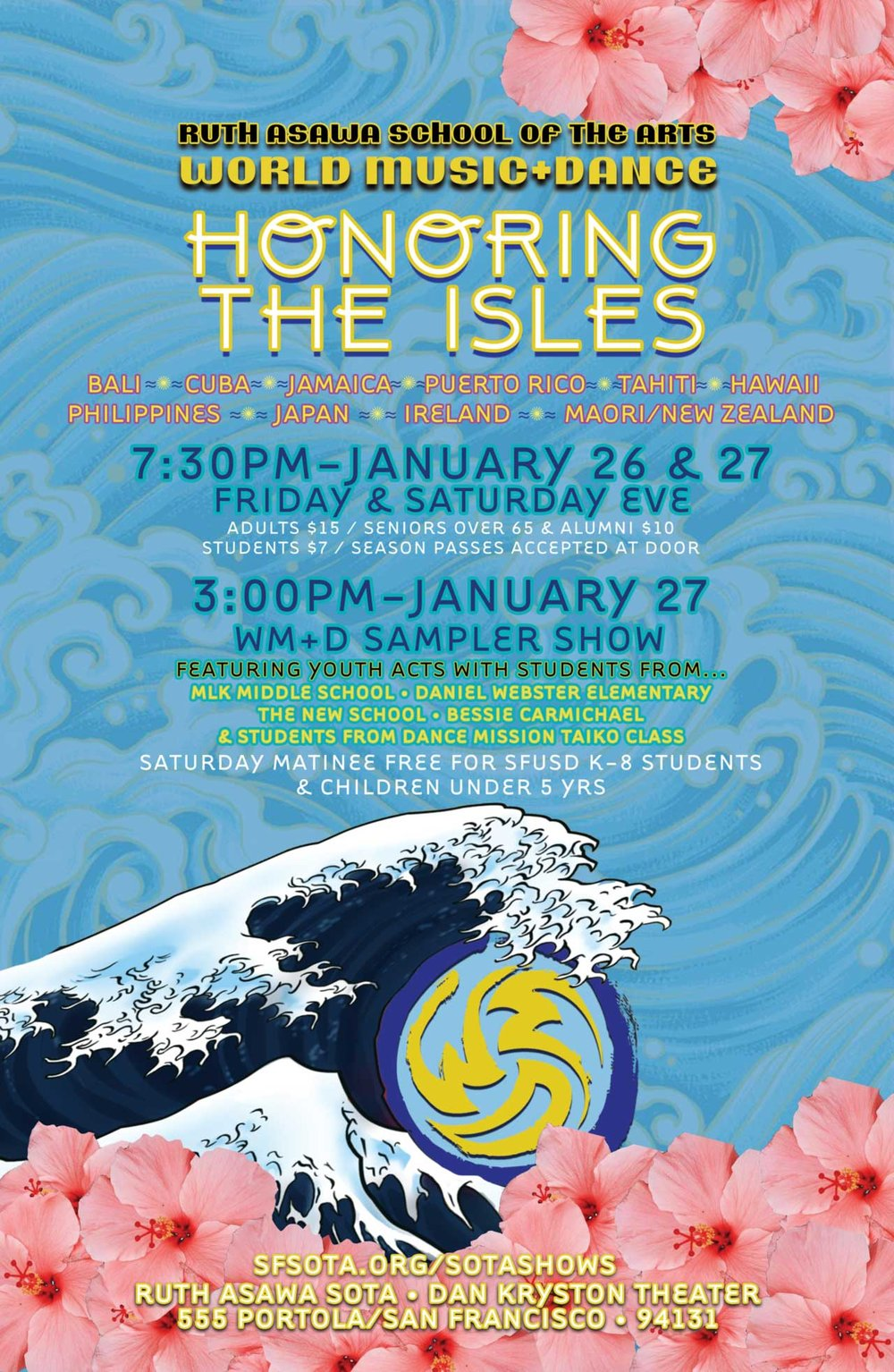 CALENDARWORLD MUSIC+DANCE • HONORING THE ISLES