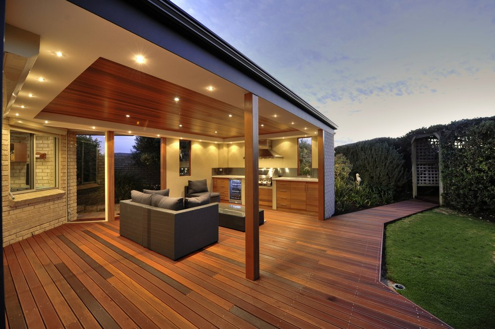 Rich in colour, Batu natural timber decking is really something beautiful