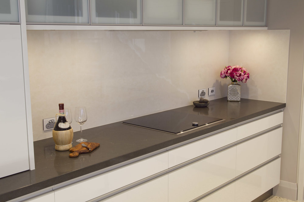 The perfect alternative to a glass splashback