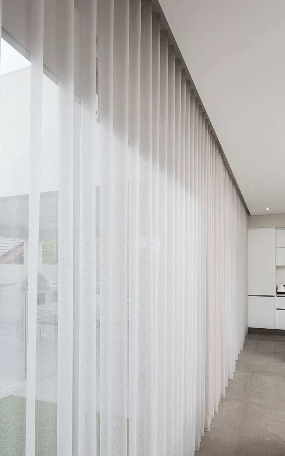 Full Height Sheer Curtains