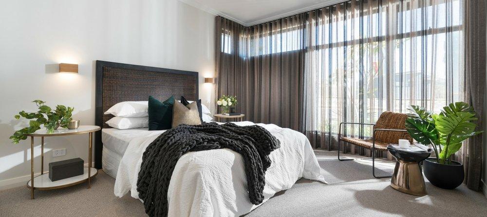 Bedroom Sheer Curtains