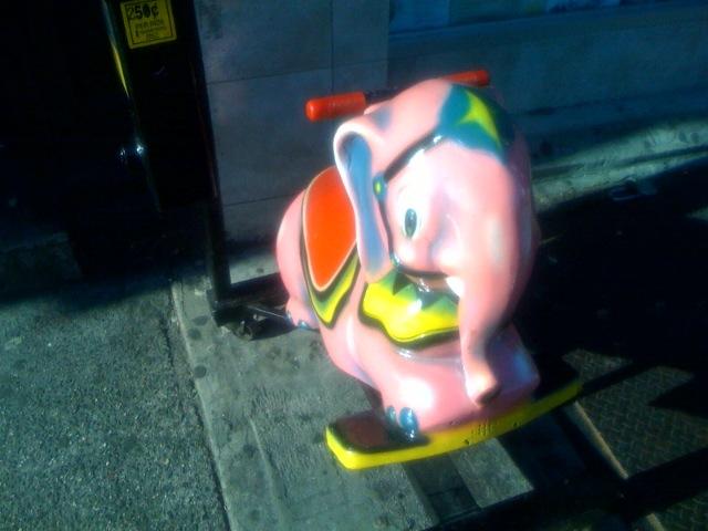 Bowery Pink Elephant    Elephas delirium tremens