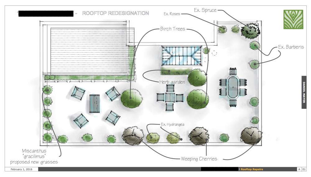 2D site plans