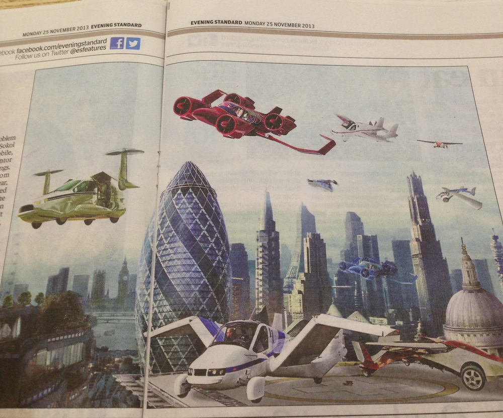 Today's Evening Standard - love this illustration!