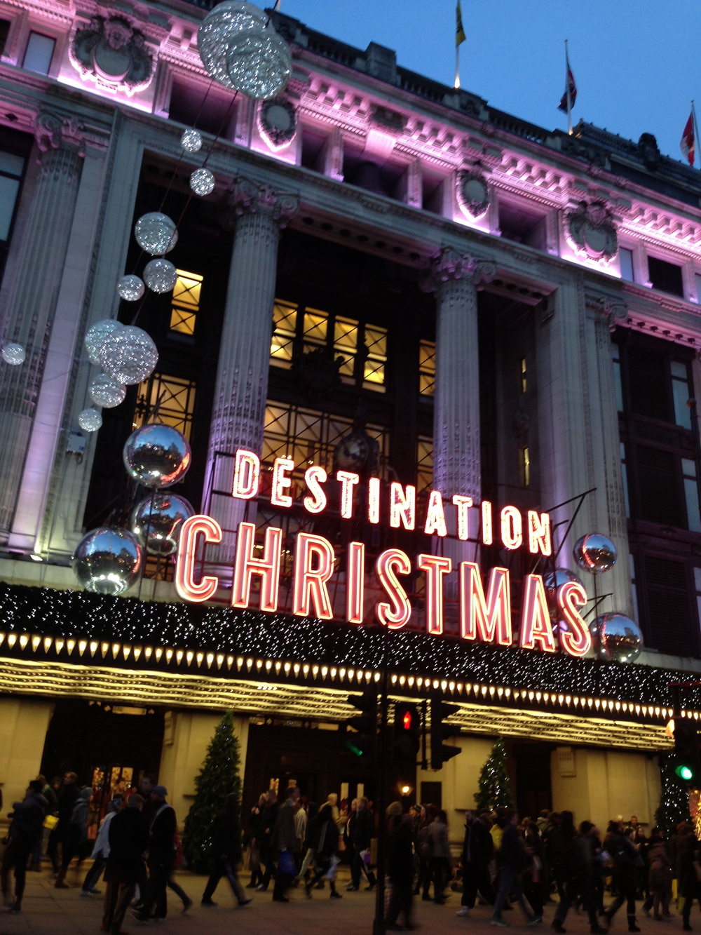Selfridges December 2013