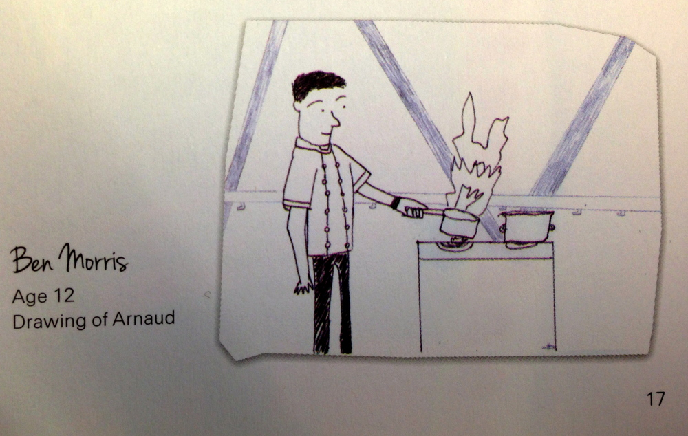 From 'The Swiss Re Cookbook For The NSPCC'