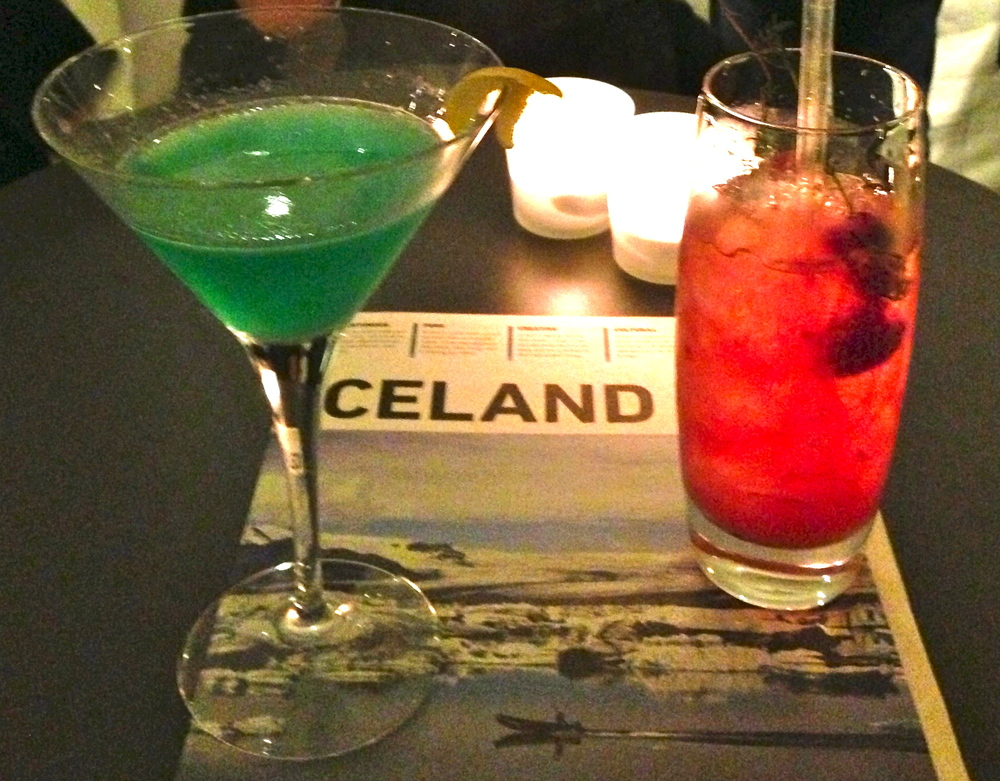 Icelandic cocktails