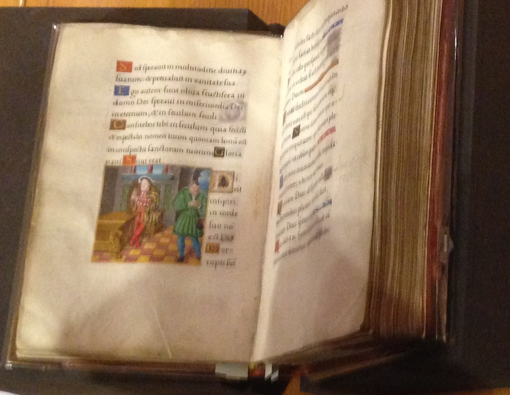 A glimpse at Henry VIII's Prayer Book
