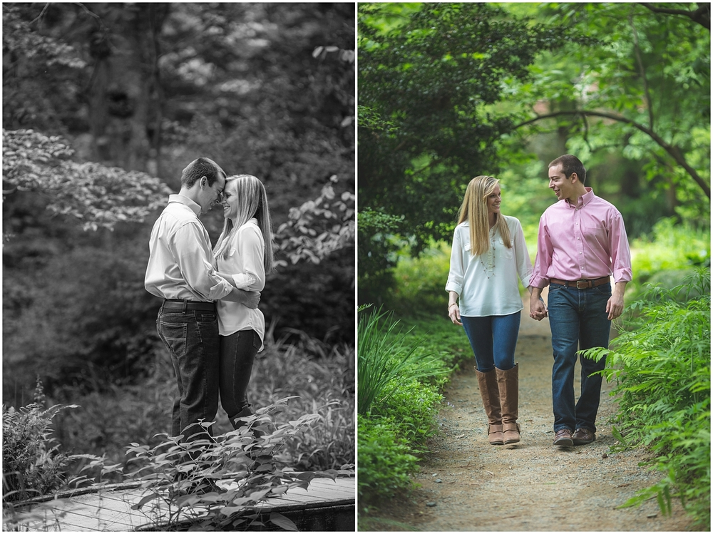 Coker Arboretum UNC Campus Chapel Hill North Carolina Engagement Photographer-0001.jpg