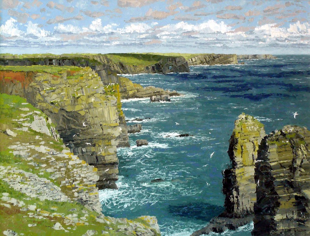 Tim Galton, The Stacks near Castlemartin