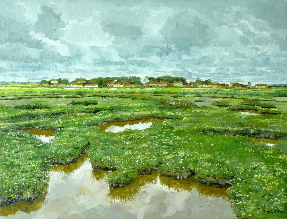 Tim Galton, Natural Saltwater Pools at Cley