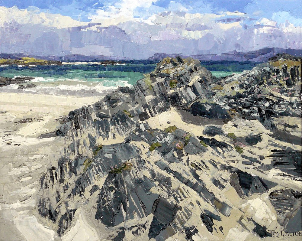 Tim Galton, Towards Ben More from Iona