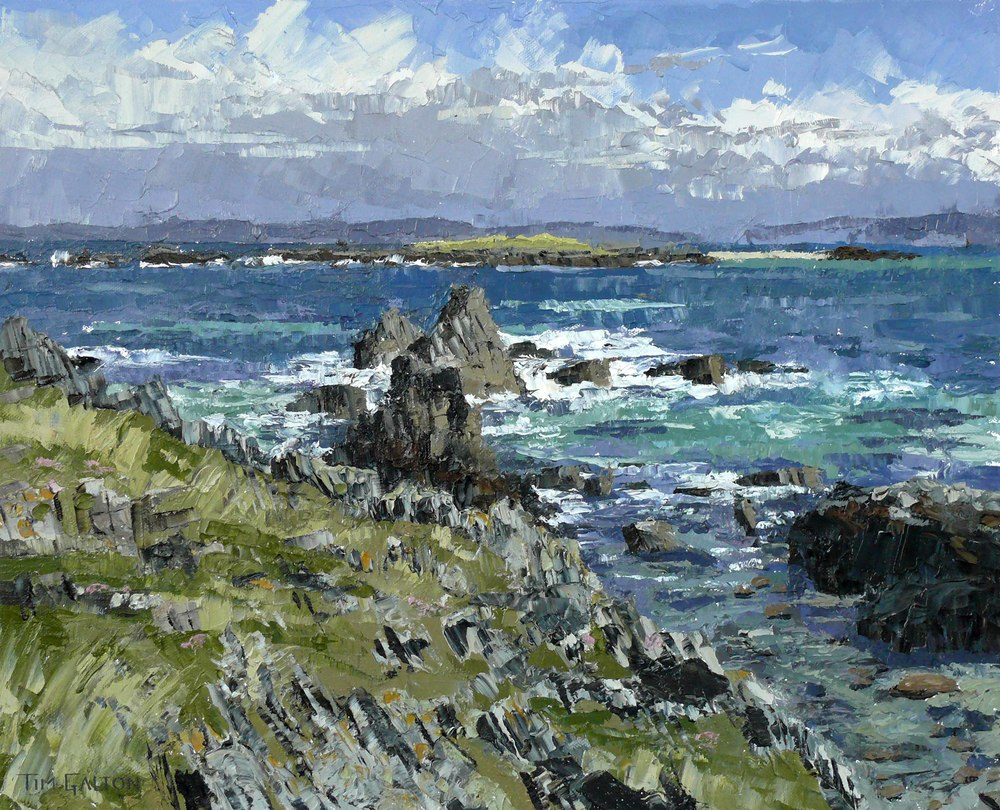 Tim Galton, Cathedral Rock, Iona