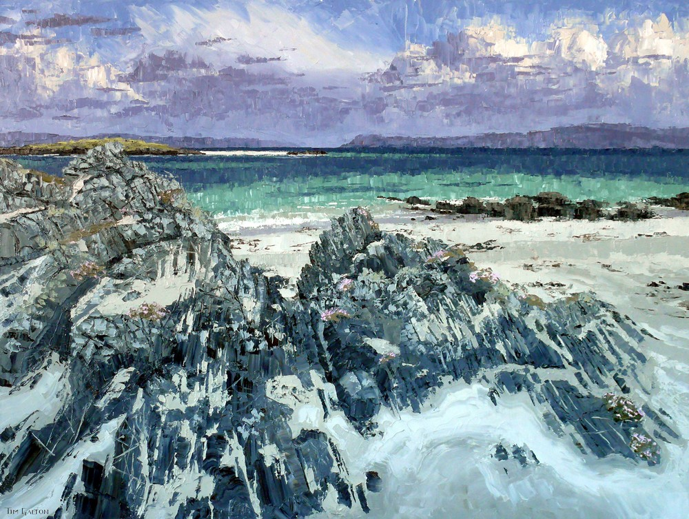 Tim Galton, Drying Sands on the North Shore, Iona