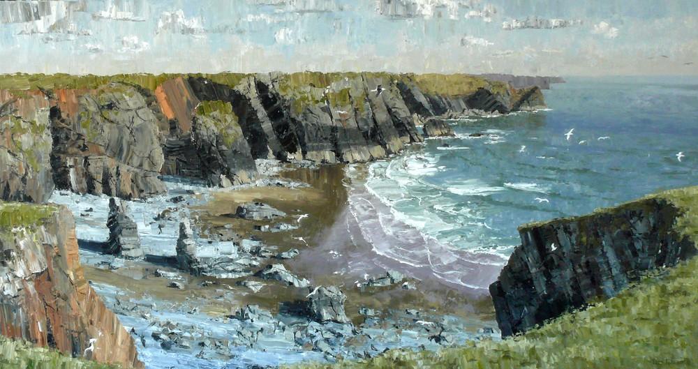 Tim Galton, A Bay near Castlemartin