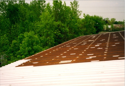 Metal Roof Resealing