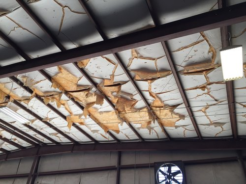 Insulation repairs replacement retrofit metalguard this picture is before the insulation was cut out publicscrutiny Images