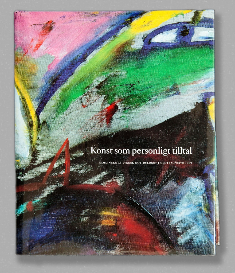 A book showing the art in the mainbuilding postcentralen i Stockholm. More then 400 pages paintings and sculptures.