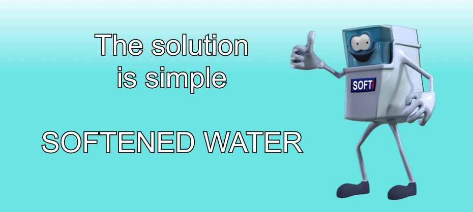The solution to hard water and scale
