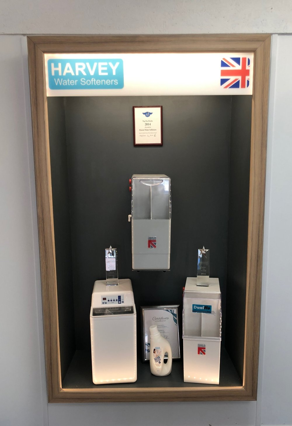 Our New Harvey Display