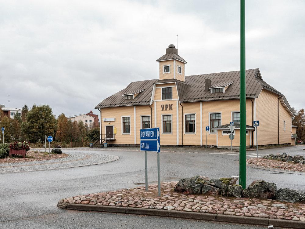 Kemijärven VPK:n talo