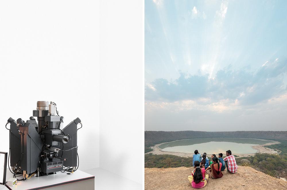 Analyser, 2017 / Lonar lake, 2017